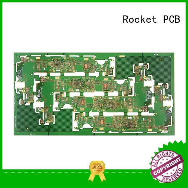 Rocket PCB free sample double layer pcb mircovias for sale