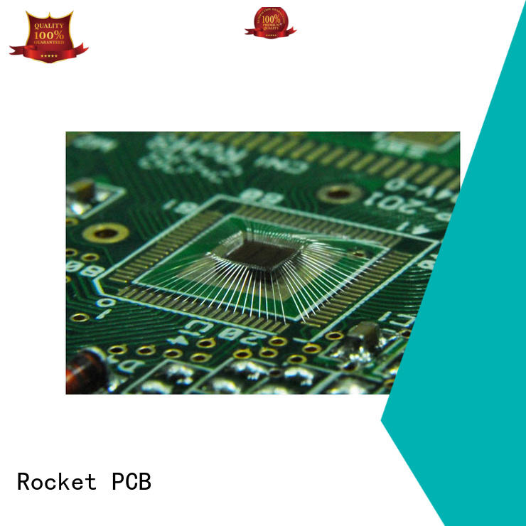 Rocket PCB gold wire bonding bulk fabrication for digital device