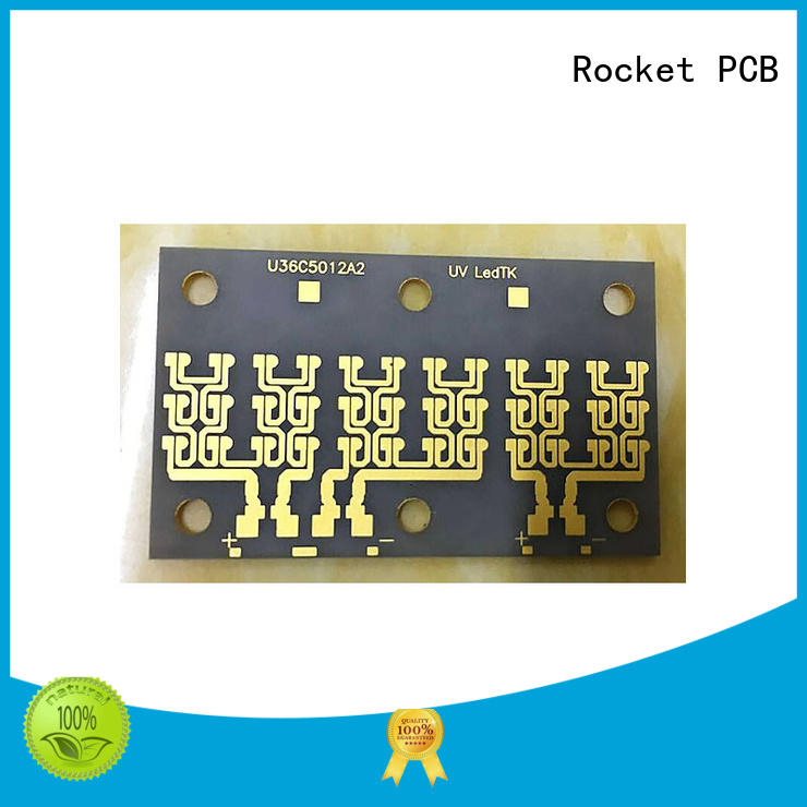 Rocket PCB heat-resistant thick film ceramic pcb material for automotive