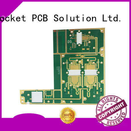 Rocket PCB speed microwave circuit board factory price instrumentation