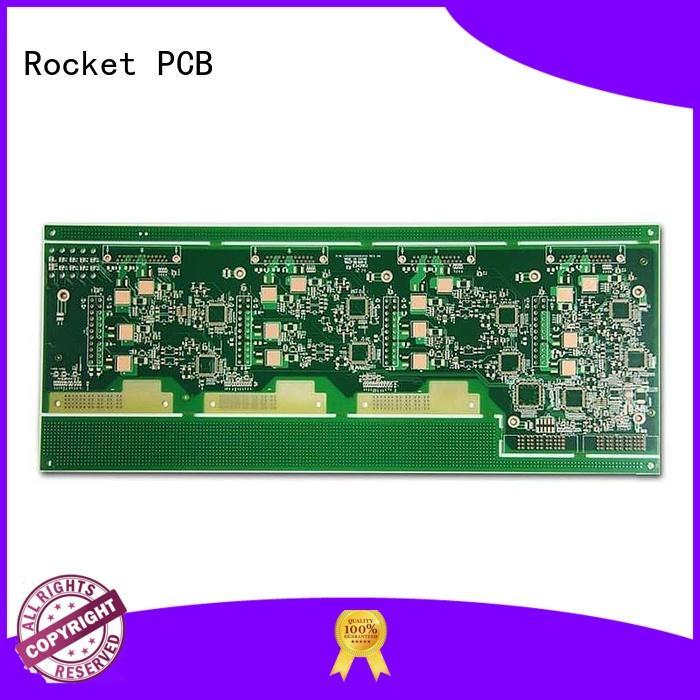 npth high frequency PCB rigid for pcb buyer Rocket PCB