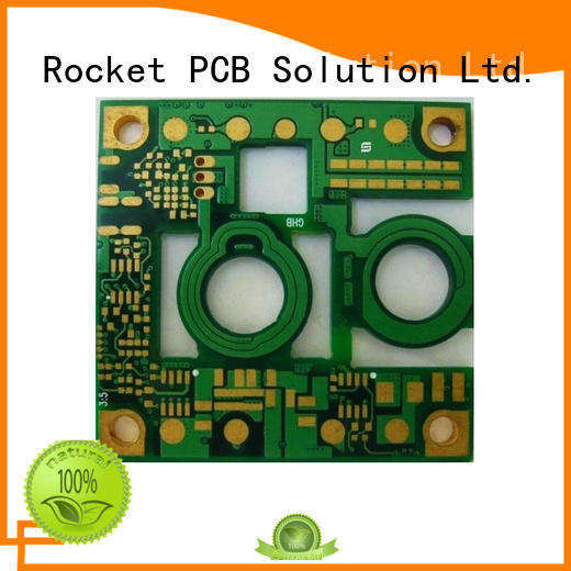 Rocket PCB thick embedded copper coin pcb power board for digital product