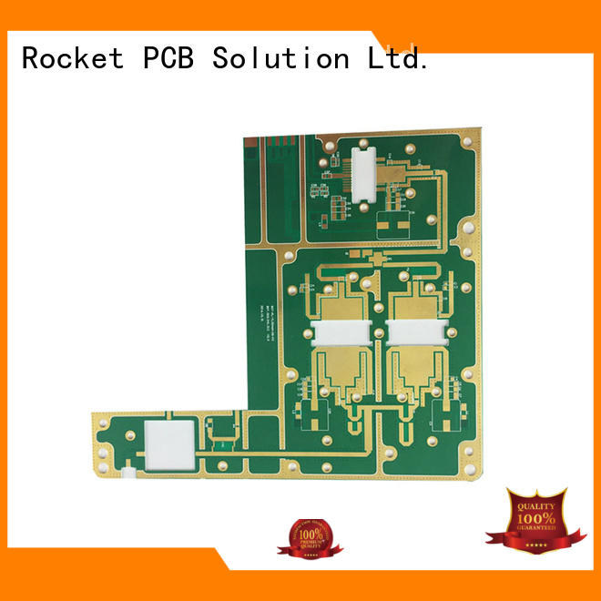 Rocket PCB high frequency rf pcb manufacturer bulk production industrial usage