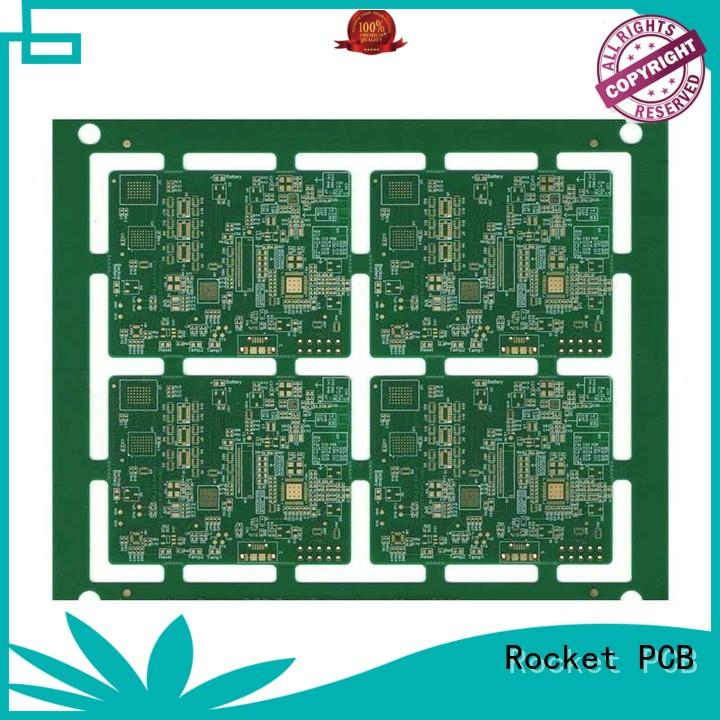 Rocket PCB prototype printed circuit board material laser hole at discount