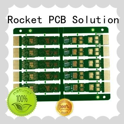 gold plated holes pcb for wholesale Rocket PCB
