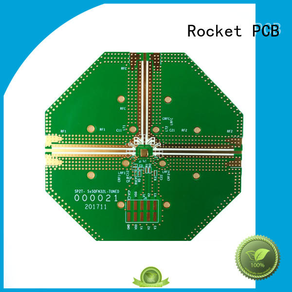 Rocket PCB mixed rf applications production for digital product