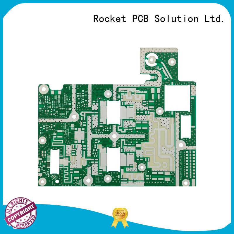 Rocket PCB hybrid rf pcb frequency instrumentation
