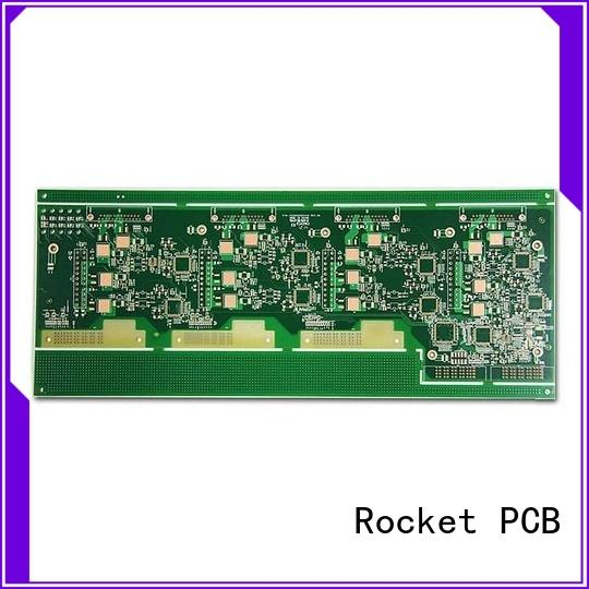 Rocket PCB rigid high frequency PCB smart control for wholesale