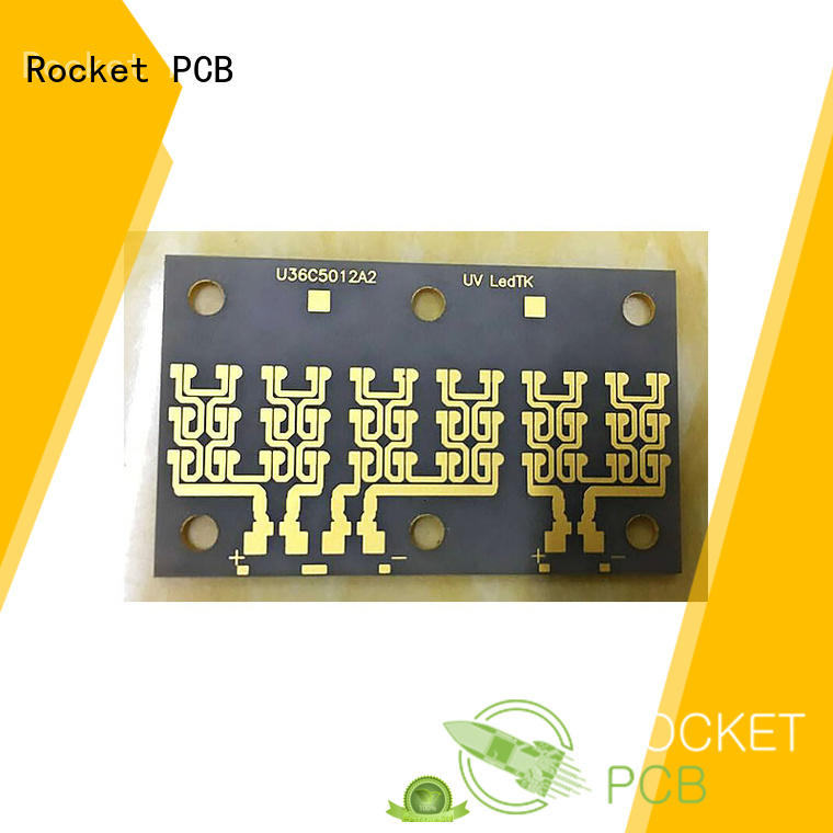 Rocket PCB thermal ceramic circuit boards substrates for electronics
