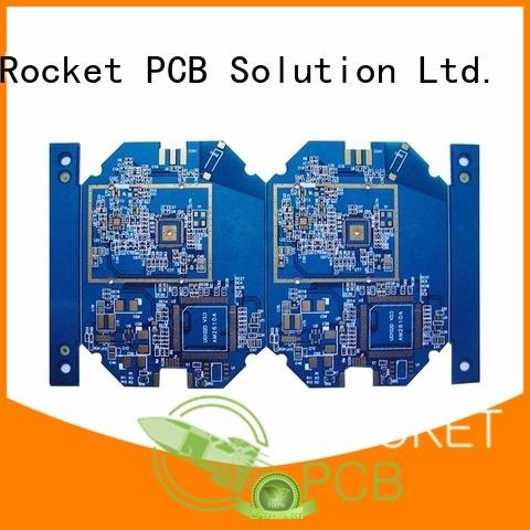 custom multilayer printed circuit board high quality smart home Rocket PCB