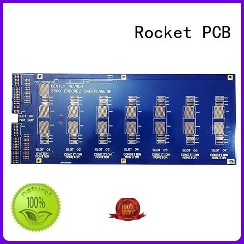 Rocket PCB advanced high speed backplane quality for vehicle