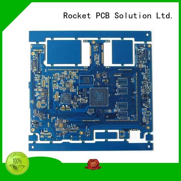pcb manufacturing laser hole interior electronics Rocket PCB