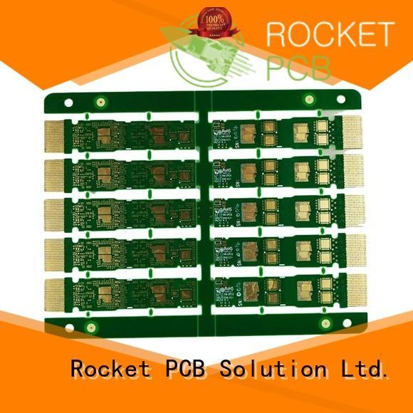 Rocket PCB at discount golden finger pcb plating for wholesale