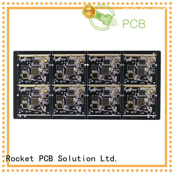 at discount gold column fingers for import Rocket PCB