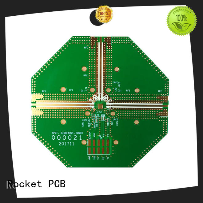 Rocket PCB material multilayer board production for electronics