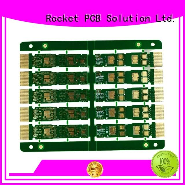 Rocket PCB highly-rated pcb connection edge for import