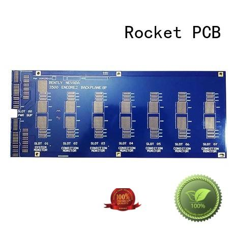 Rocket PCB high speed backplane board for vehicle