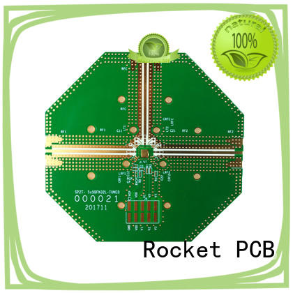 Rocket PCB frequency rogers pcb structure for digital product