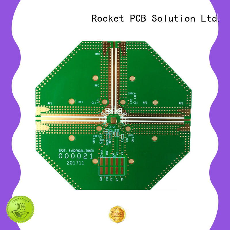 Rocket PCB production rogers pcb structure for electronics