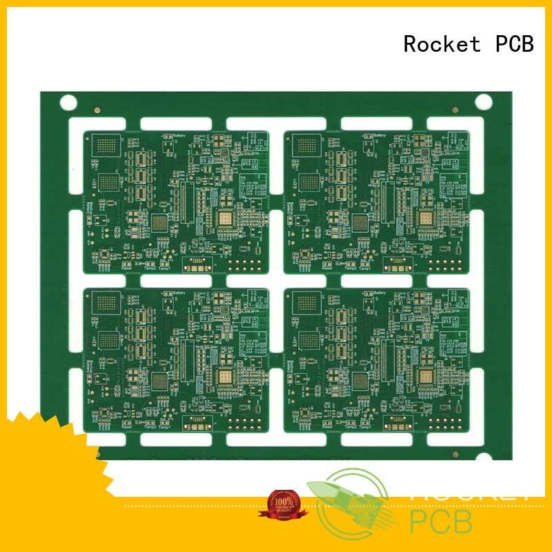 Rocket PCB customized pcb fabrication laser hole wide usage