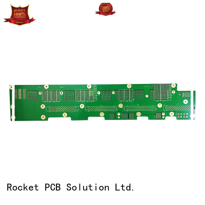 Rocket PCB back plane printed circuit board manufacturing fabrication