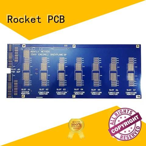 Rocket PCB back plane pcb order control for auto