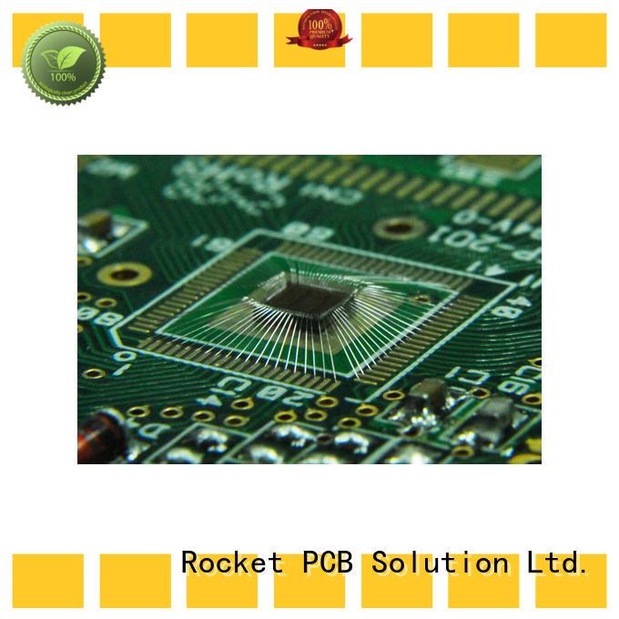 Rocket PCB gold wire bonding pcb bulk fabrication for electronics