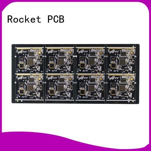Rocket PCB at discount gold bonding finger pcb connector for import