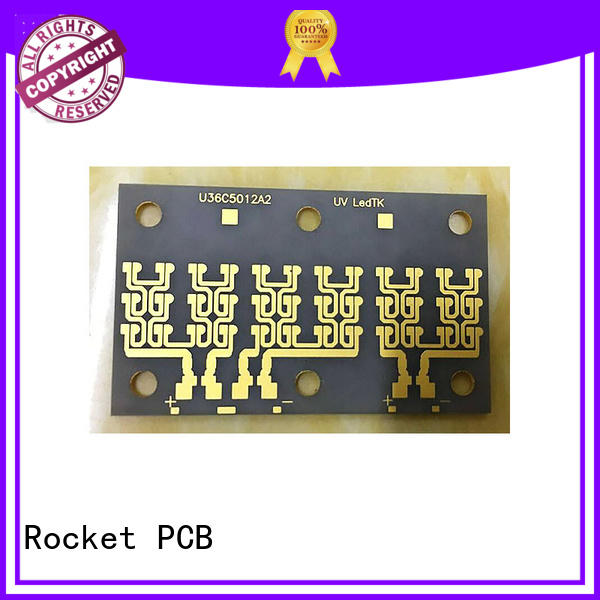Rocket PCB material ceramic circuit boards base for electronics