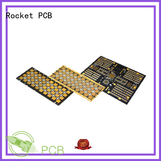Rocket PCB board electronic circuit board light-weight for digital device