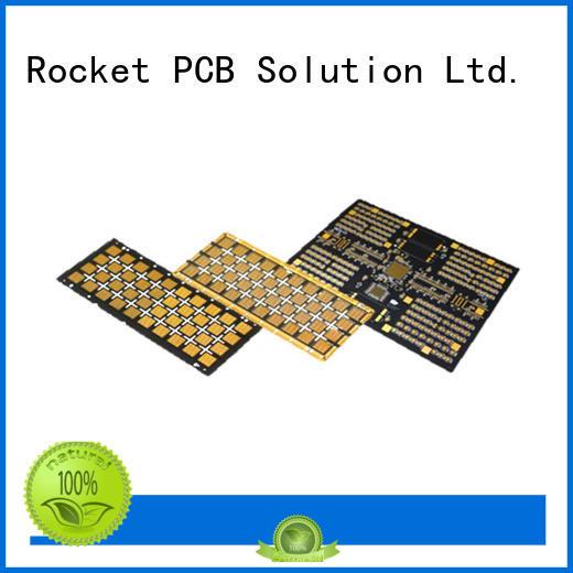 Rocket PCB printed led pcb circuit for digital device