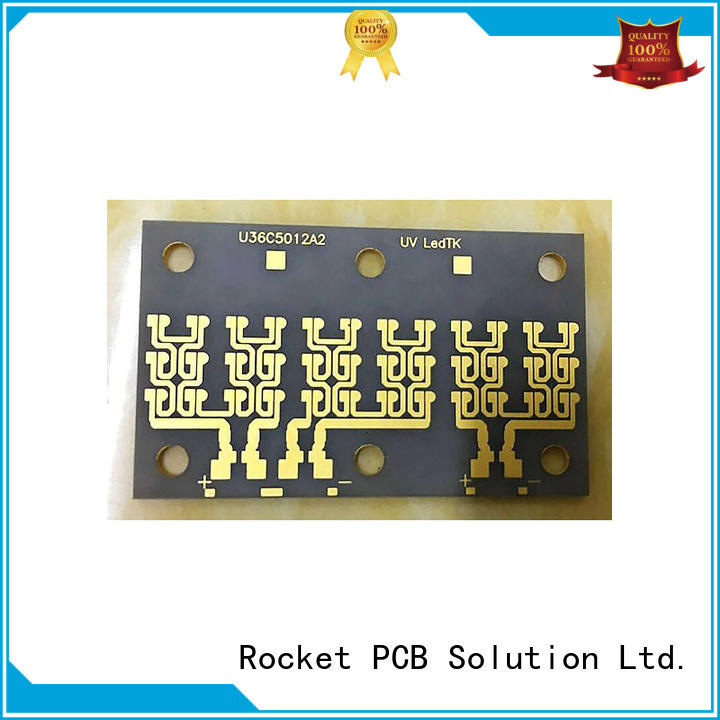 Rocket PCB material ceramic substrate pcb material for