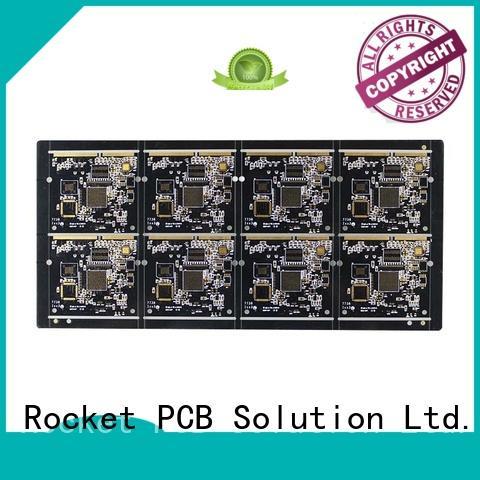 Rocket PCB professional gold finger pcb plating for import