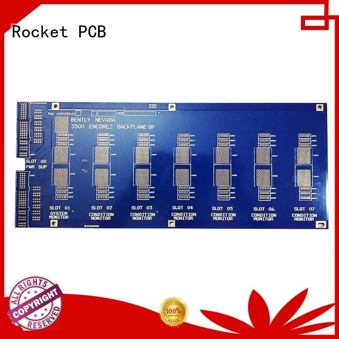 Rocket PCB printed circuit board components fabrication