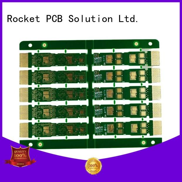 Rocket PCB at discount gold finger pcb plating for import