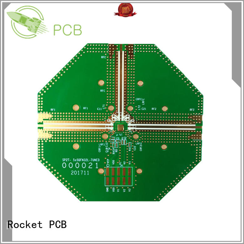 Rocket PCB frequency hybrid pcb rogers for digital product