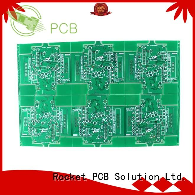 Rocket PCB quick diy double sided pcb volume electronics