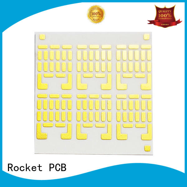 ceramic IC structure pcb board for electronics Rocket PCB