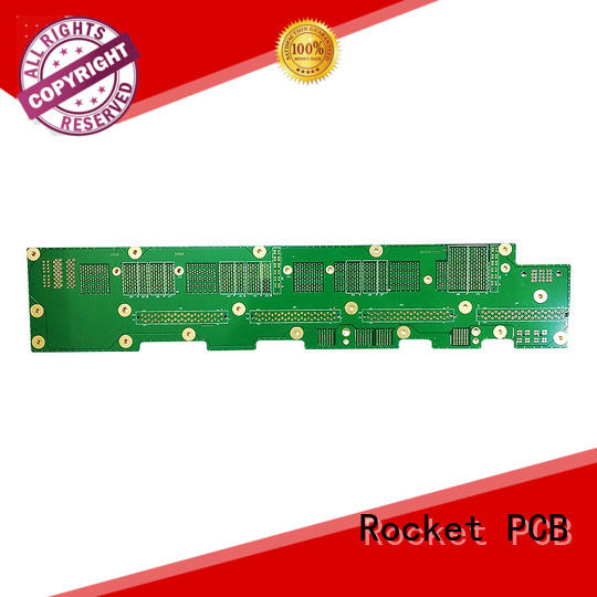 Rocket PCB advanced high speed backplane fabricate at discount
