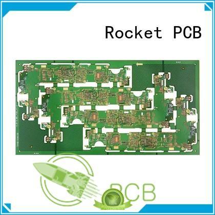 Rocket PCB free sample any-layer pcb mircovias bulk production
