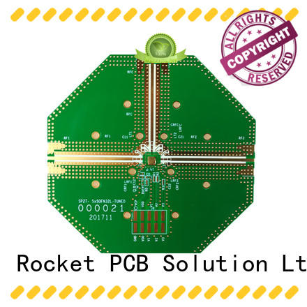 Rocket PCB frequency multilayer board rogers for digital product