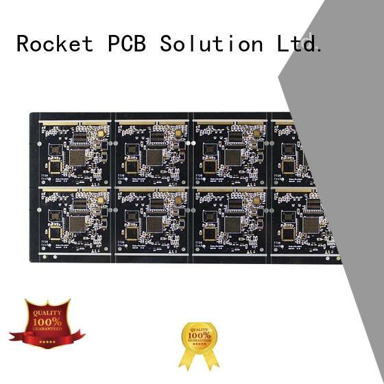 staged gold finger pcb pcb import Rocket PCB