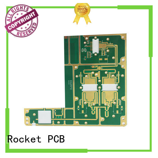 Rocket PCB hybrid microwave PCB production bulk production instrumentation
