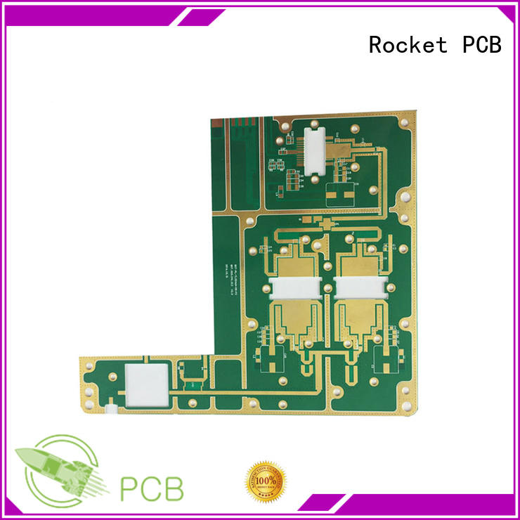 Rocket PCB hybrid microwave PCB production pcb industrial usage