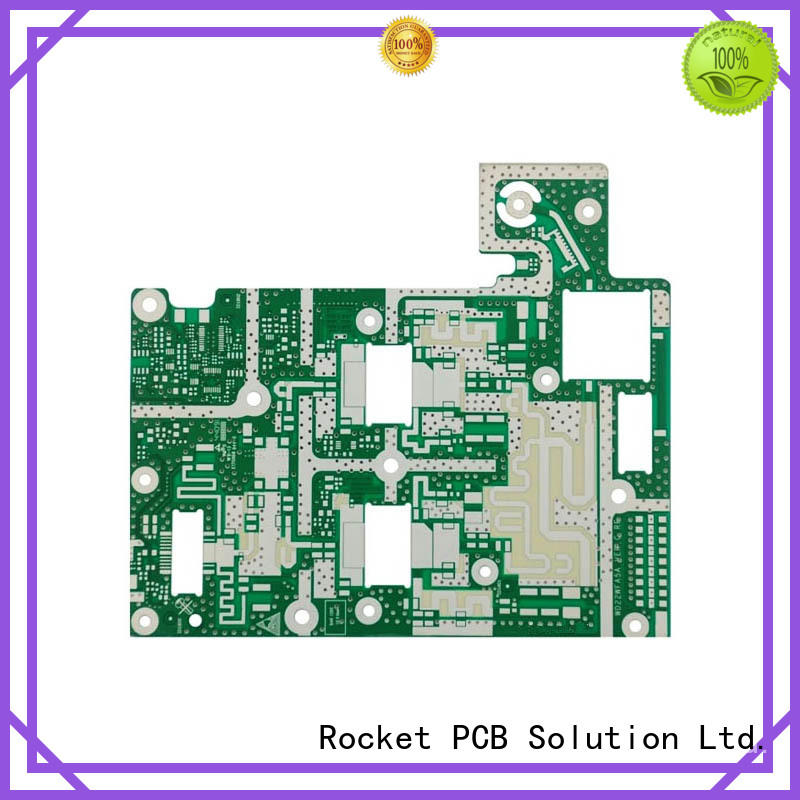 customized microwave pcb factory price instrumentation