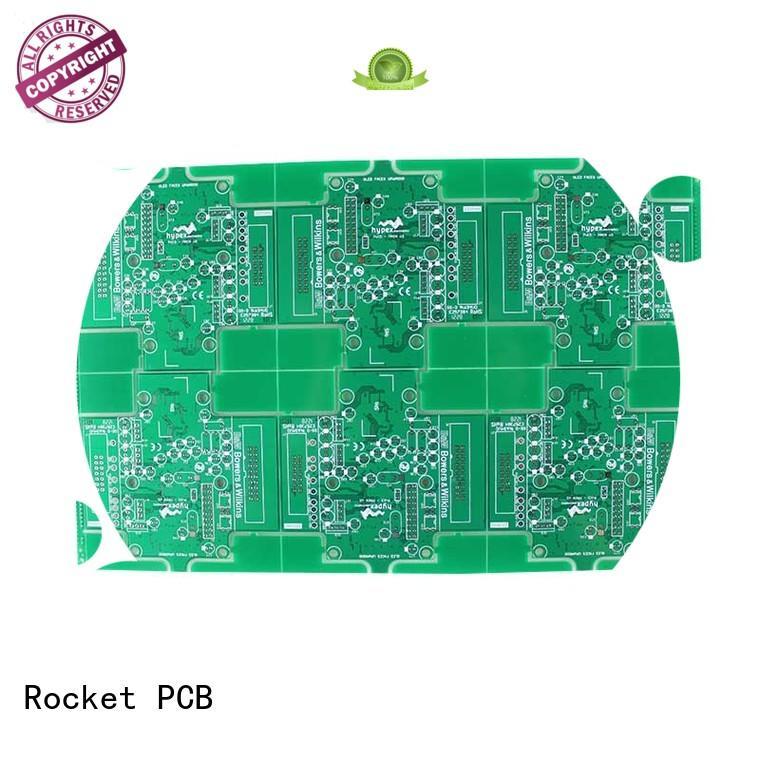 bulk single sided pcb hot-sale electronics Rocket PCB