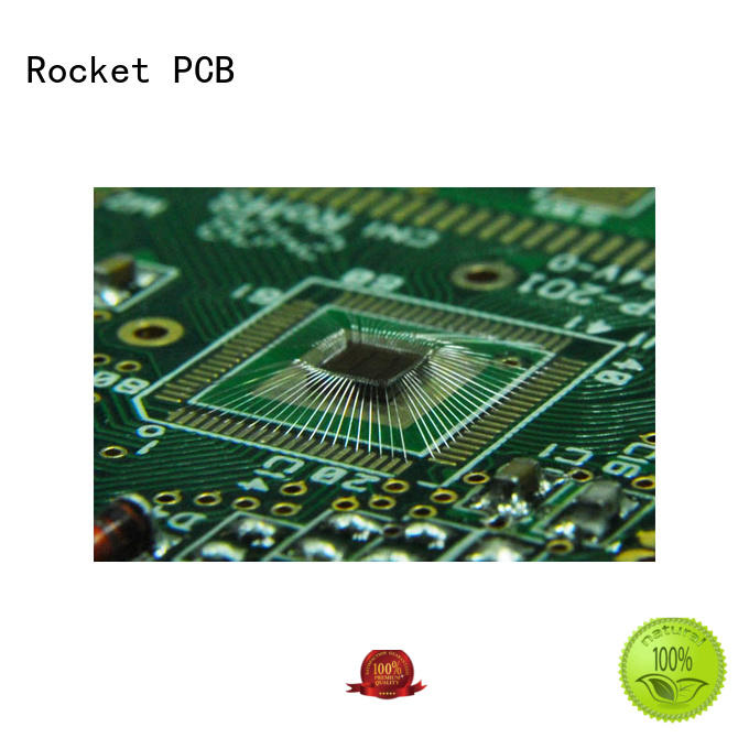 Rocket PCB wire wire bonding pcb bulk fabrication for electronics