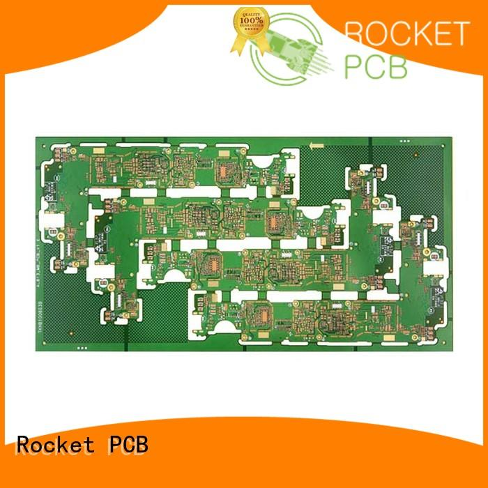Rocket PCB hot-sale pcb manufacturing process mircovias at discount