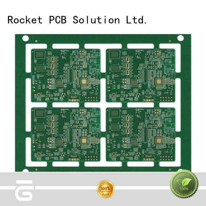Rocket PCB laser HDI PCB laser hole interior electronics