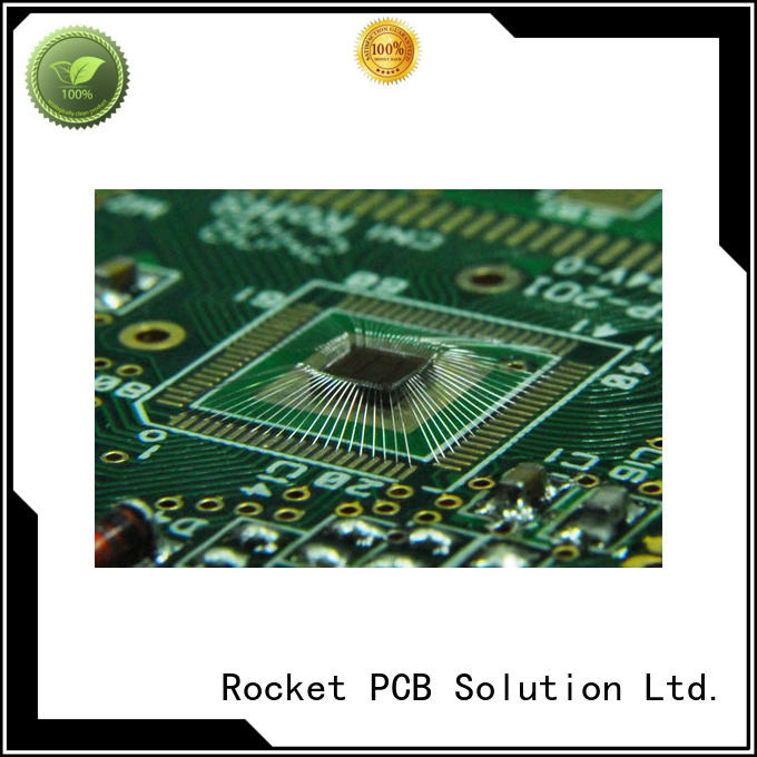 gold ic wire bonding surface finished for automotive Rocket PCB